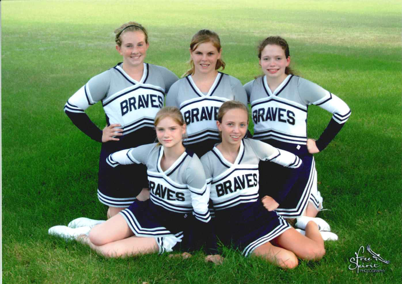Junior High School Cheerleaders